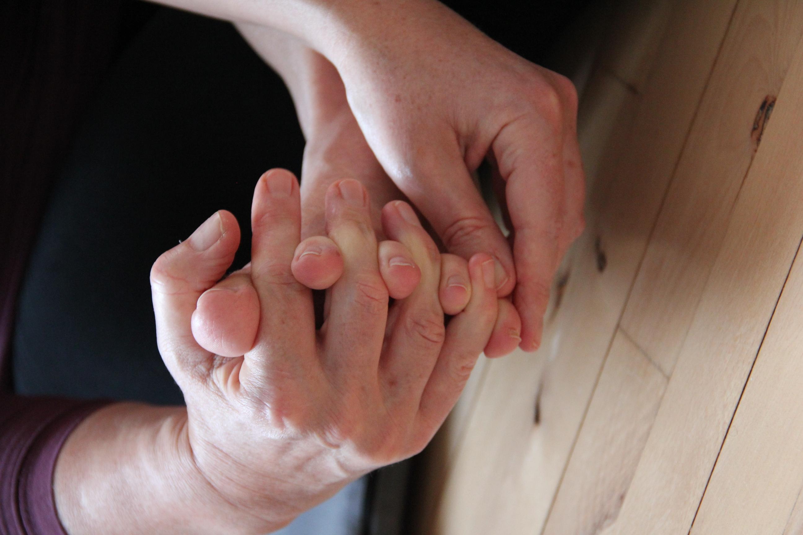 Anette Fribert - behandler med zoneterapi, akupunktur og supplerer ofte med afspændingsmassage